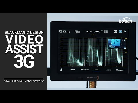 Blackmagic Video Assist 3G External Monitor Recorder | 5-Inch and 7-Inch Model Overview