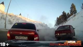 Аварии на видеорегистратор 2015 (5) / Сar crash compilation 2015 (5)