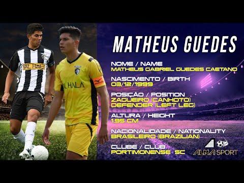 MATHEUS GUEDES - ZAGUEIRO (CANHOTO) / DEFENDER (LEFT LEG) - HIGHLIGHTS 2020/2021