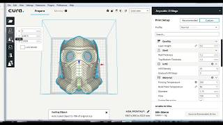3D Printing Beginner Tip: Using Cura and Mesh Mixer to Scale and Cut