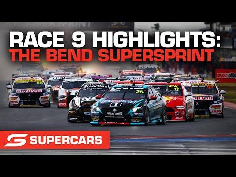 SUPERCARS 2021 OTR スーパースプリント RACE9のハイライト動画
