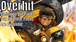 Overhit: Checking out Packs/PSA 50 Dollar Pack Is A Gamble/First Pack Tried
