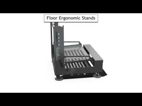 Fusion Tech Ergonomic Stands - ERG-300 Ergonomic Stand - sold by Fusion Tech Integrated Inc.