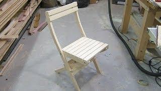 Складные стулья для рыбалки из дерева своими руками