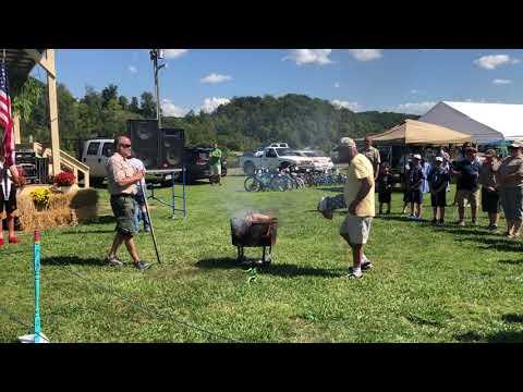 Video: Flag retirement ceremony