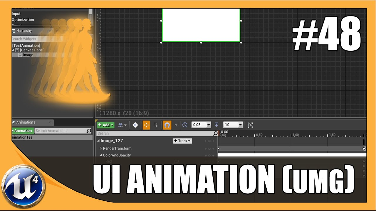 Basic UMG UI Animation - #48 Unreal Engine 4 Beginner Tutorial Series
