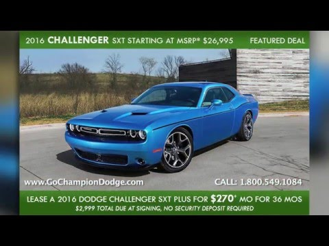 2016 DODGE LEASE SPECIALS - Los Angeles, Cerritos, Downey CA - Journey, Charger, Dart, Challenger & Grand Caravan