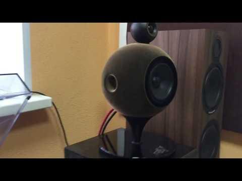 Deluxe Acoustics DAT-200 desktop spherical Hi-Fi speakers Play audio store, Orenburg