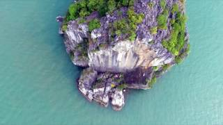 DRONE: Climbing The Face, Cat Ba, Vietnam