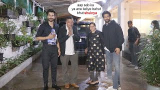 Vicky Kaushal's Entire Family Get Together Humbly Thank Photogs For  Promote Younger B.Sunny's Film