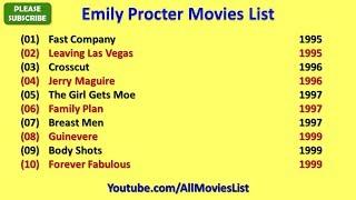 Emily Procter Movies List