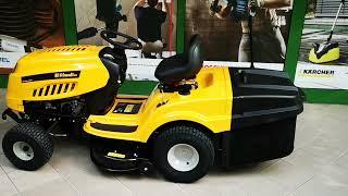 RIWALL PRO RLT 92H és 92T fűnyíró traktor bemutatása