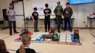 February 4, 2017 Tournament at Colorado Youth Outdoors – Qualifying Match with Sunset Middle School's Team 11263D, Derp Squad