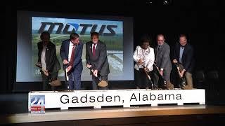 Motus Plant Groundbreaking Begins Multimillion Dollar Project