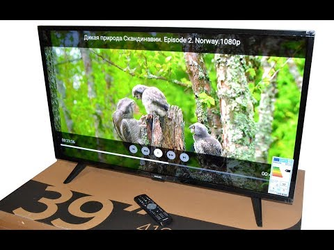 PHILIPS 39PHT4112 видео обзор