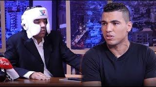 الملاكم محمد الربيعي يحذر العشابي في عندي مايفيد ويطلق النار على التغماوي | telemaroc