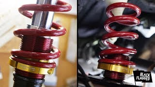 Installing a Ground Control Coilover Conversion on the E30 | vlog 086