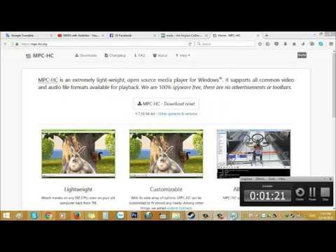 Hướng dẫn cài đặt và sử dụng MPC (Media Player Classic)