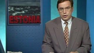 YLE Pääuutislähetys 28.9.1994 (MS Estonia)