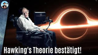 Sensation: Black-Hole-Theorie von Stephen Hawking endlich bewiesen!