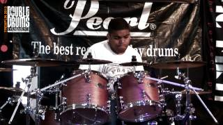 Double Drum's Contest 2015 Finale PIMI       / Drum Cover Kirk franklin /Papa san