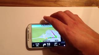 Sygic - Head-up Display - How To Use / Activate It (troubleshooting)