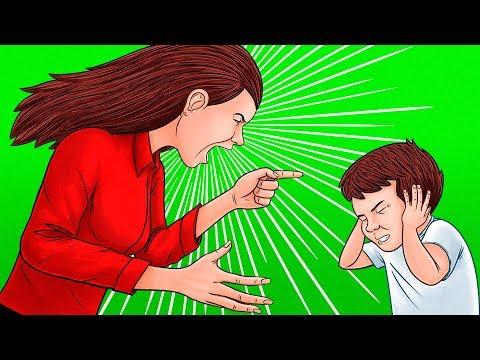 8 Основных Ошибок при Воспитании Детей