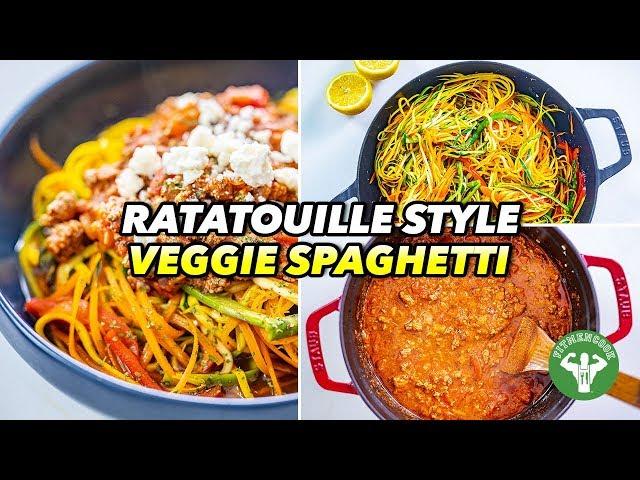 Quarantine Fresh Cooking – Ratatouille Style Veggie Spaghetti
