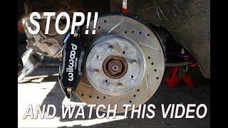 Wilwood DPHA Big Brake Kit Install (Integra/Civic)