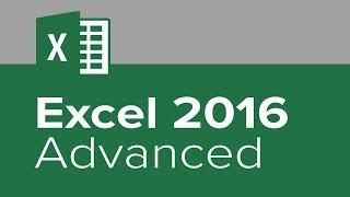 Excel 2016 Advanced