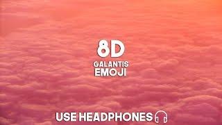 Galantis   Emoji (8D Audio)