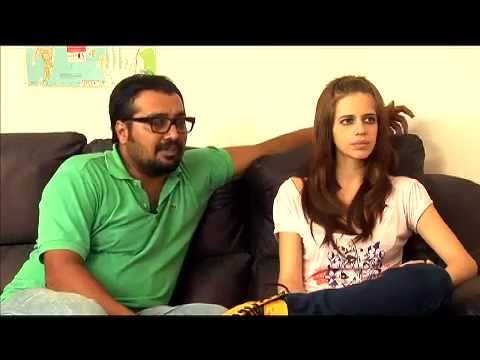 Anurag Kashyap and Kalki Koechlin on Plot of That Girl In Yellow Boots - Exclusive Interview (видео)