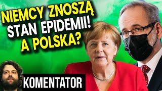 Niemcy Znoszą Stan Epidemii! A Tymczasem w Polsce 4 Fala i Wkrótce Nowe Obostrzenia – Analiza Ator