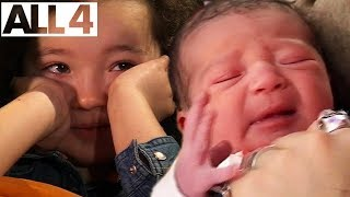 Adorable Kids React To Videos Of Their Own Births   I Was Born on One Born   Full Series Compilation