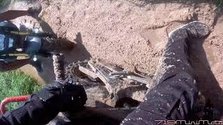 Groms stuck in the mud!