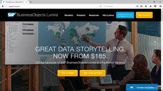 SAP Lumira – Überblick und Download