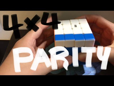 PLL Edge Parity 4X4 Rubiks Cube Guide Easy to memorize Simple Moves