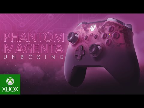 Unboxing Xbox Phantom Magenta Special Edition Wireless Controller