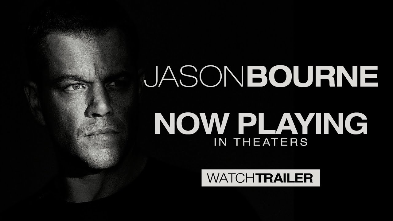 Movie Trailer:  Jason Bourne (2016)