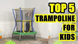TOP 5: Best Trampoline for Kids 2020 | The joy of any child
