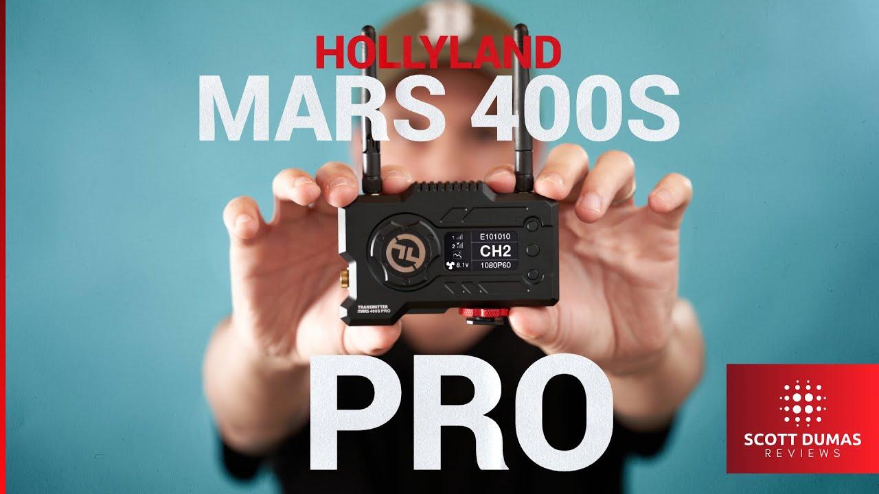 סט וידאו אלחוטי SDI למרחק 120 מ' HOLLYLAND MARS400S PRO
