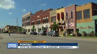 Pontiac to vote on resolution to support immigrants