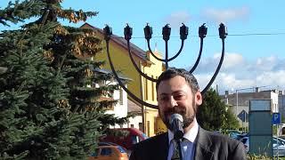 Huncovce - odhalenie pamätníka židovský obetiam holokaustu