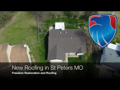 Awesome new roof in St Peters MO! Freedom Restoration and Roofing is your local Owens Corning Platinum Preferred Contractor. Give us a call for a free inspection.