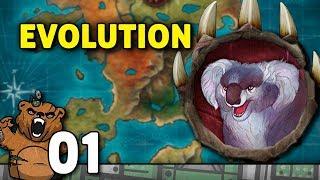 A lenda do predador Alfa | Evolution #01 - Gameplay PT-BR