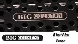 In the Garage™ with Total Truck Centers™: Big Country Truck Accessories HD Front & Rear Bumpers