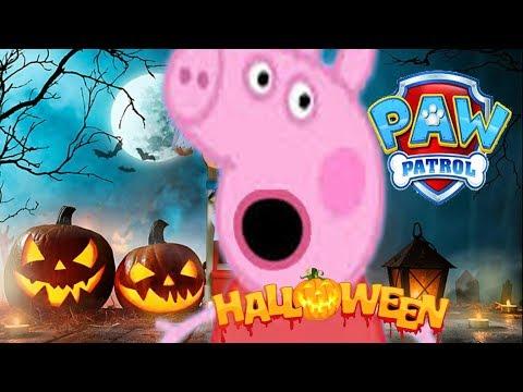 La Patrulla Canina: la casa encantada en Halloween/ Paw Patrol: The haunted house in Halloween