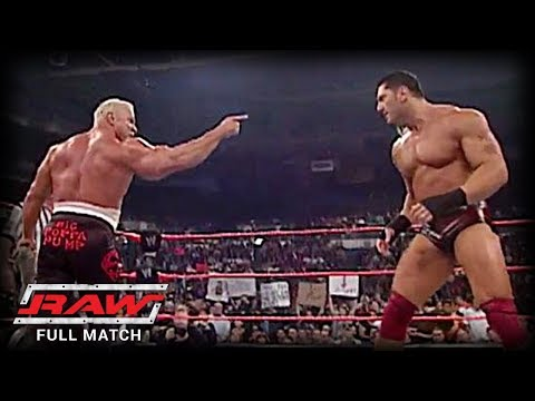 WWE | SCOTT STEINER VS BATISTA | (FIRST AND LAST TIME EVER)