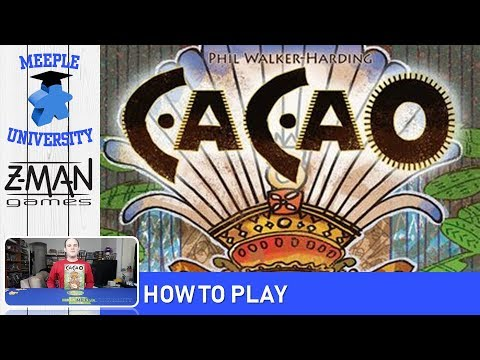 Cacao Board Game – How to Play & Setup under 14 Minutes