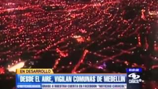 SOBREVUELO CON LRAD 1000X EN MEDELLIN